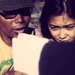 Asst Director Bombi Plata reviews Maja Salvador Thelma behind the scenes